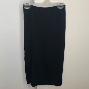 High-Rise Pencil Skirt